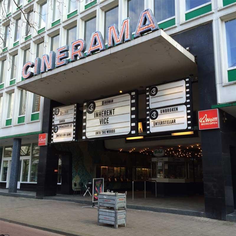 cinerama filmtheater (rotterdam) - alle films & bioscooptijden