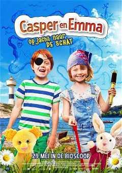 Casper en Emma op jacht naar de schat (2018)