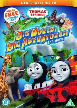 Thomas de Stoomlocomotief: Grote avonturen in de grote wereld