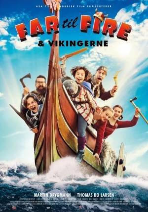 Vader met vier Kinderen en de Vikingen (2020)