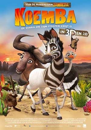 Koemba: de zebra die zijn strepen kwijt is