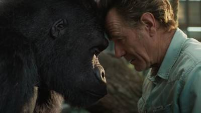 Sam Rockwell is een artistieke gorilla in de eerste trailer van 'The One and Only Ivan'