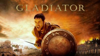 Russel Crowe's inbreng in het script van 'Gladiator' is flink overdreven