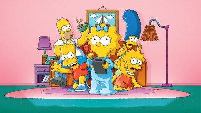 Michael Palin heeft gastrol in 'The Simpsons'