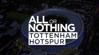 Amazon Prime deelt trailer docuserie 'All or Nothing: Tottenham Hotspur'