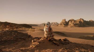 Vanavond op tv: Matt Damon in 'The Martian'