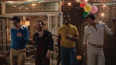 Netflix deelt beelden van film over homoseksuele vrienden: 'The Boys in the Band'