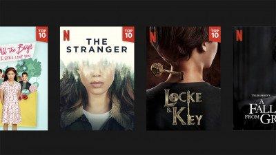 Netflix heeft nieuwe top 10-functie met meest bekeken films & series