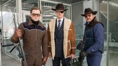 Vanavond op tv: Taron Egerton in 'Kingsman: The Golden Circle'