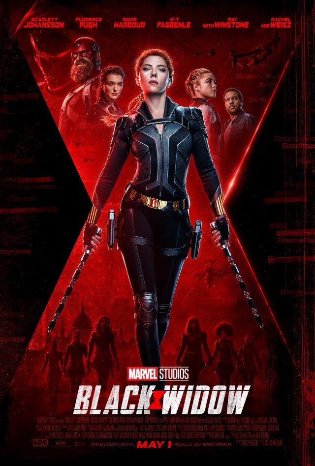 Nieuwe poster 'Black Widow'
