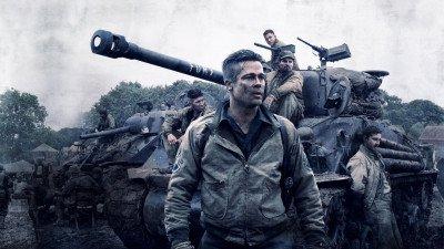 Vanavond op tv: Brad Pitt in oorlogsfilm 'Fury'