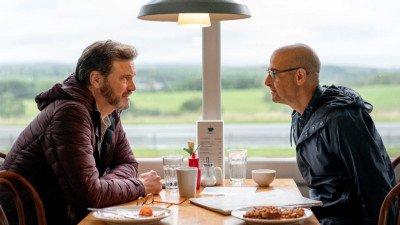 Colin Firth en Stanley Tucci te zien als koppel in eerste trailer van 'Supernova'