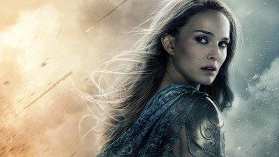 Natalie Portman bereidt zich voor op haar rol als Mighty Thor