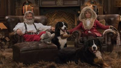 Netflix deelt trailer van 'The Christmas Chronicles 2' met Kurt Russell en Goldie Hawn