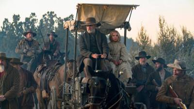 Officiële trailer van de western 'News of the World' met Tom Hanks nu te zien
