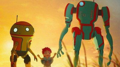 Netflix deelt teaser van futuristische animatieserie 'Eden'