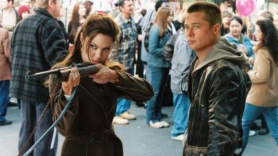Vanavond op tv: Angelina Jolie en Brad Pitt in de actiekomedie 'Mr. & Mrs. Smith'