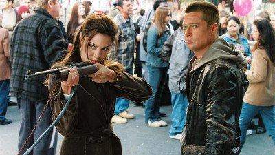 Vanavond op tv: Angelina Jolie en Brad Pitt in de actiekomedie 'Mr. & Mrs. Smith'