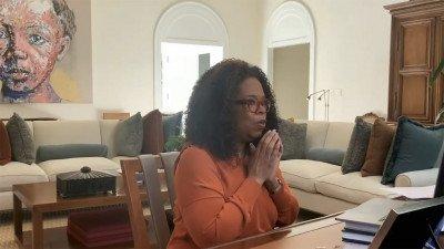 Oprah Winfrey maakt voor Apple TV+ een talkshow over het coronavirus