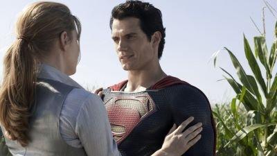 Vanavond op tv: Henry Cavill en Amy Adams als Superman en Lois Lane in 'Man of Steel'