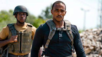 Sciencefictionfilm 'Outside the Wire' met Anthony Mackie nu te zien op Netflix