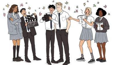 Netflix en 'Doctor Who'-regisseur maken een serie van de stripboekenreeks 'Heartstopper'