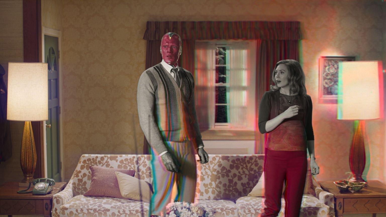 Marvel-fan spot slordige fout in de trailer van 'WandaVision'