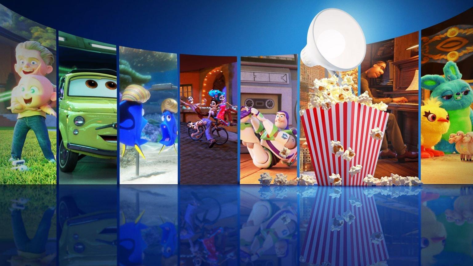 Nieuw op Disney+: 'Pixar Popcorn', een collectie korte films met al je favoriete Pixar-personages