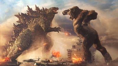 Een strijd tussen legendarische monsters in de trailer van 'Godzilla vs. Kong'