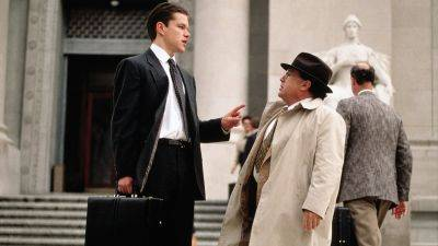 Vanavond op tv: Matt Damon en Danny DeVito in dramathriller 'The Rainmaker'