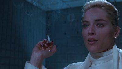 Sharon Stone was woest over de montage van expliciete scène in 'Basic Instinct' van Paul Verhoeven