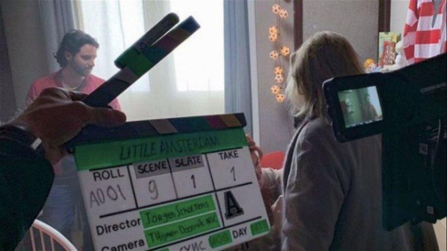 Opnames van 'Little Amsterdam' met Anneke Blok en Frank Lammers van start