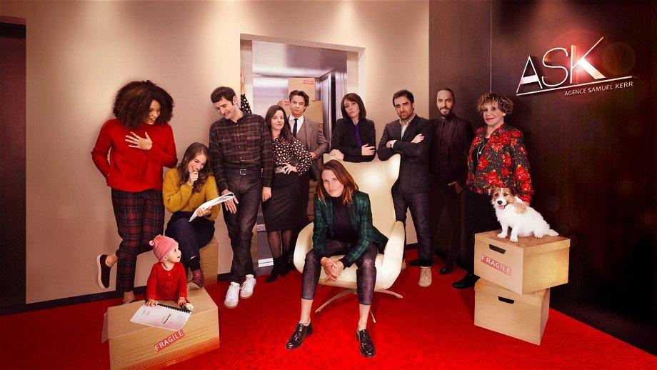 Franse Netflix-serie 'Dix Pour Cent' verlengd met een vijfde seizoen én een eigen speelfilm