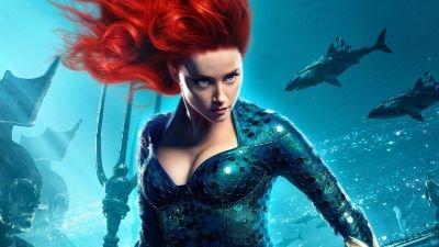 Amber Heard start met training voor terugkeer als Mera in 'Aquaman 2'