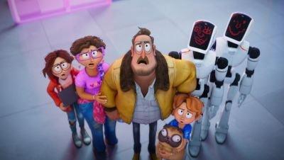 Nieuw op Netflix: komische animatiefilm 'The Mitchells vs. The Machines'