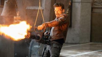 Actiefilm 'Boss Level' met Frank Grillo en Mel Gibson nu te zien via Pathé Thuis