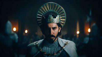 Dev Patel is een moedige ridder in de nieuwe trailer van fantasiefilm 'The Green Knight'