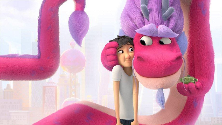 Netflix deelt trailer van nieuwe animatiefilm 'Wish Dragon' van de makers van 'Shrek'