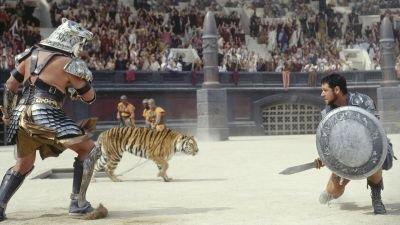 'Gladiator' van Ridley Scott met Russell Crowe en Joaquin Phoenix nu te zien op Netflix