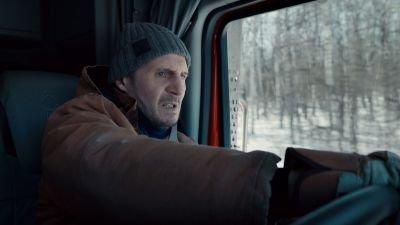 Liam Neeson is op een gevaarlijke reddingsmissie in de trailer van actiethriller 'The Ice Road'