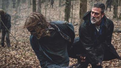 Eerste foto's van slotseizoen 'The Walking Dead' nu te zien