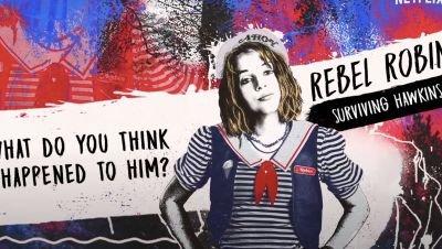 Netflix deelt trailer van 'Stranger Things'-podcast 'Rebel Robin: Surviving Hawkins'
