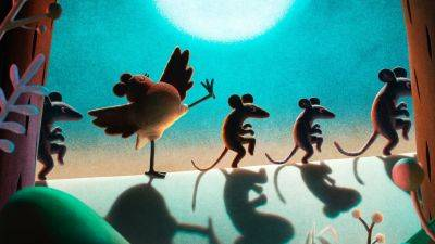 Netflix deelt de teaser van schattige stop-motion-special 'Robin Robin'