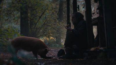 Nicolas Cage moet zijn gestolen varken redden in de trailer van dramathriller 'Pig'