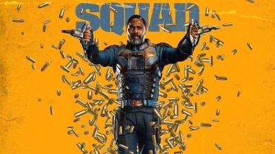 Idris Elba neemt het op tegen een buitenaards wezen in de nieuwe trailer van 'The Suicide Squad'