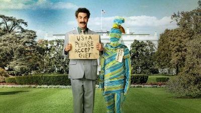 Amazon Prime Video deelt een tenenkrommende ongebruikte scène van 'Borat Subsequent Moviefilm'
