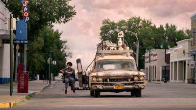 Een nieuwe generatie bestuurt de Ectomobile in de nieuwe trailer van 'Ghostbusters: Afterlife'