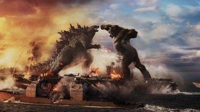 Monsterfilm 'Godzilla vs. Kong' nu ook te zien via Pathé Thuis
