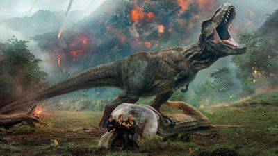 Nieuw op Netflix: Chris Pratt en Bryce Dallas Howard in 'Jurassic World: Fallen Kingdom'