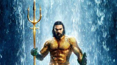 Jason Momoa onthult nieuw Aquaman-pak voor 'Aquaman and the Lost Kingdom'